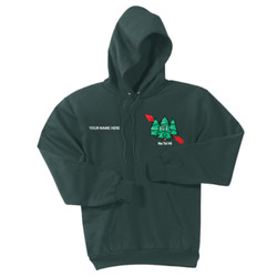 PC90H - M133E001 - EMB - Pullover Hoodie