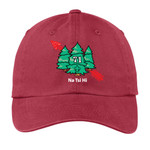 PWU - M133-S1.0-2017 - EMB - Monmouth Council Na Tsi Hi Lodge Garment Washed Cap